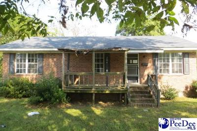Single Family Home For Sale: 304 N Mullins St