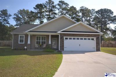 Florence County Single Family Home Uc/Show For Back Up: 3026 Longfellow Drive