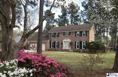 Hartsville SC Single Family Home For Sale: $235,900