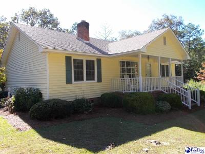 Hartsville Single Family Home Uc/Show For Back Up: 1849 Oakhill Ct