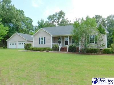 Hartsville Single Family Home Uc/Show For Back Up: 1819 Ruby Rd
