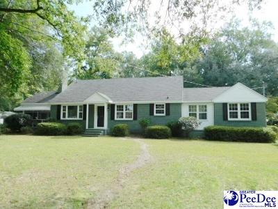 Hartsville Single Family Home Uc/Show For Back Up: 715 N 5th Street