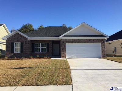 Florence County Single Family Home Uc/Show For Back Up: 1324 Millbank Drive