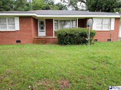 Pamplico Single Family Home For Sale: 1026 Munnerlyn Lane