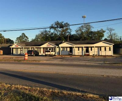 Florence, Flrorence, Marion, Pamplico Commercial For Sale: 910-912 S Cashua Drive