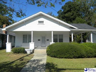 Florence Multi Family Home Uc/Show For Back Up: 709 W Palmetto Street
