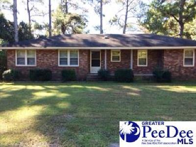 Florence Single Family Home Uc/Show For Back Up: 3806 Pinetree Drive