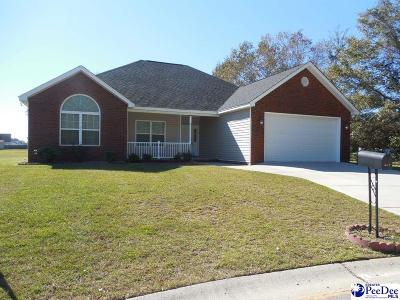Florence County Single Family Home For Sale: 3613 Trotwood Drive