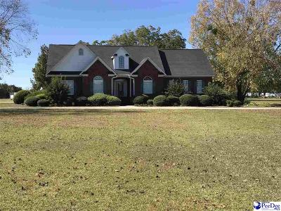 Hartsville Single Family Home For Sale: 2208 W Billy Farrow Hwy