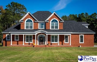 Florence SC Single Family Home Uc/Show For Back Up: $439,900