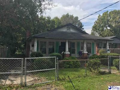 Florence Single Family Home For Sale: 306 Mullins Street