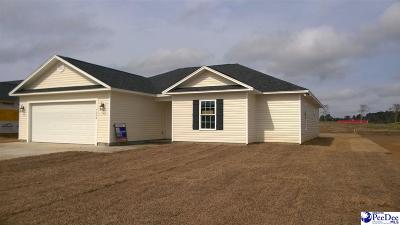 Florence County Single Family Home Uc/Show For Back Up: 5004 Milan Road
