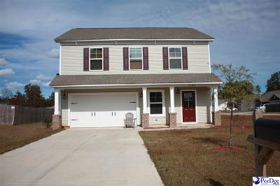 Florence County Single Family Home For Sale: 2108 Chatfield Dr
