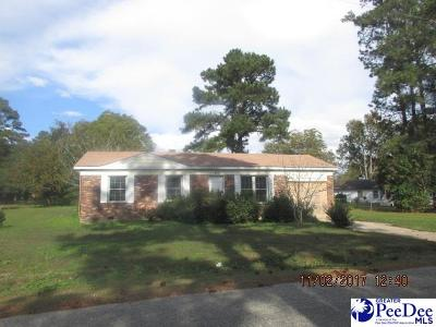 Marion County Single Family Home Uc/Show For Back Up: 206 Huggins Street