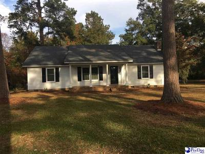 Florence SC Single Family Home For Sale: $149,900
