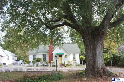 Florence Single Family Home For Sale: 212 S Calhoun Dr.