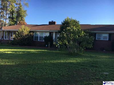 Hartsville Single Family Home For Sale: 2629 Kelleytown Rd