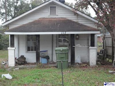Dillon County Single Family Home For Sale: 117 Bass Street