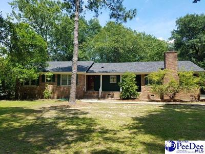 Kingstree Single Family Home For Sale: 1324 Fulton Avenume