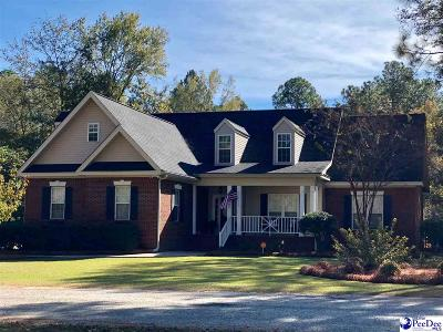 Hartsville Single Family Home For Sale: 1302 Palmetto Dr