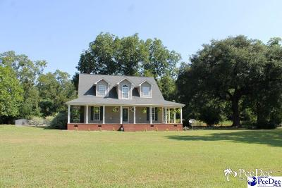 Timmonsville Single Family Home Uc/Show For Back Up: 804 Cinnamon Creek Rd
