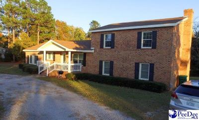 Hartsville Single Family Home Uc/Show For Back Up: 311 W Old Camden Road
