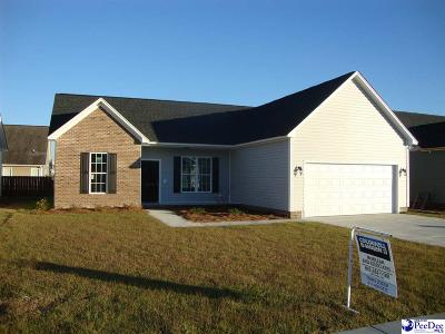 Florence County Single Family Home For Sale: 3008 Red Berry Circle