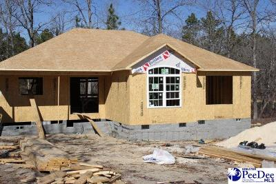 Hartsville Single Family Home For Sale: Lot 30 Forest Breeze