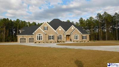 Florence County Single Family Home New: 3359 Thornblade Drive