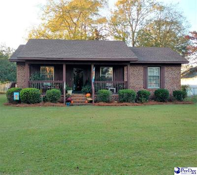 Dillon SC Single Family Home For Sale: $79,900