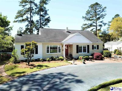 Florence Single Family Home For Sale: 1720 Cherokee Rd