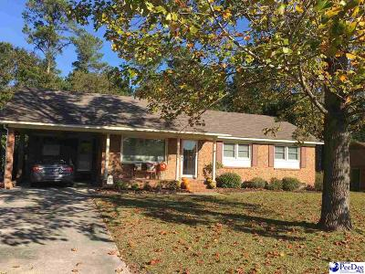 Florence SC Single Family Home Sold: $136,000