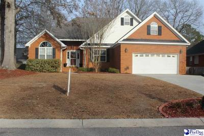 Florence SC Single Family Home For Sale: $215,000