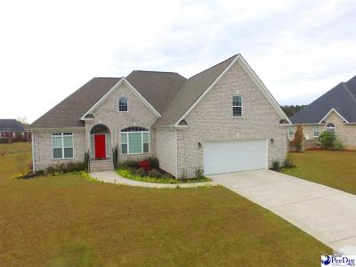 Florence SC Single Family Home For Sale: $327,000