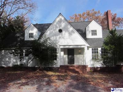 Hartsville Single Family Home For Sale: 800 W Home