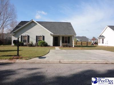 Effingham Single Family Home Uc/Show For Back Up: 2321 Petal Path