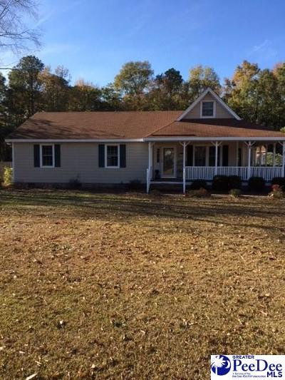 Hartsville Single Family Home Uc/Show For Back Up: 2624 Echo Woods Drive