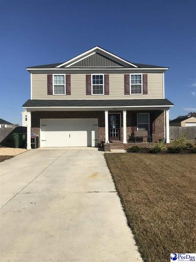 Effingham SC Single Family Home For Sale: $193,000