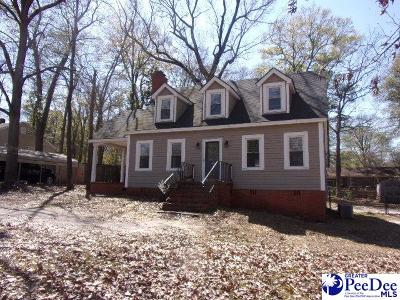 Hartsville Single Family Home For Sale: 414 N 3rd Street