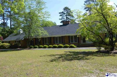 Hartsville Single Family Home Uc/Show For Back Up: 129 Holly Drive