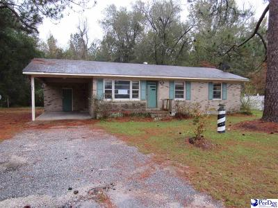 Marion SC Single Family Home For Sale: $29,100