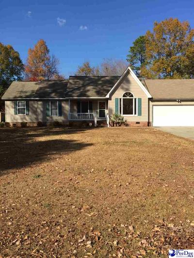 Hartsville Single Family Home For Sale: 731 Woodcreek Drive