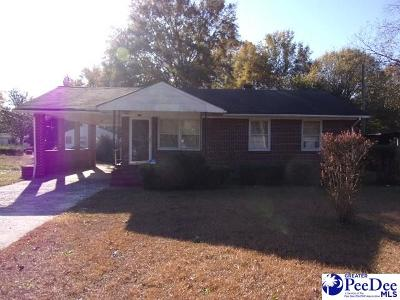 Hartsville Single Family Home For Sale: 325 Marion Ave