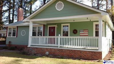 Marion SC Single Family Home For Sale: $65,000
