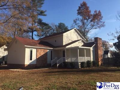 Florence Single Family Home For Sale: 700 Corbett Plaace
