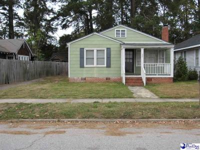 Florence Single Family Home For Sale: 627 Gregg Ave