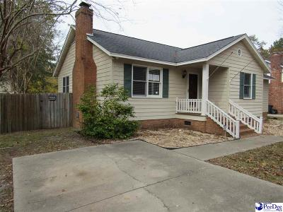 Florence SC Single Family Home For Sale: $113,000