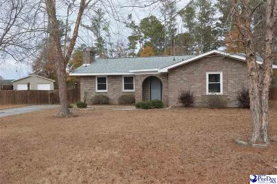 Hartsville Single Family Home For Sale: 220 Watson Circle