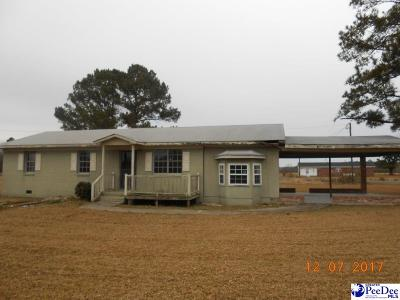 Dillon SC Single Family Home Uc/Show For Back Up: $19,900