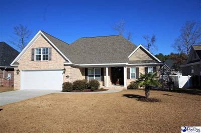 Florence SC Single Family Home Uc/Show For Back Up: $269,000